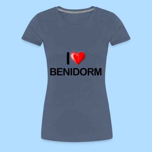 I love benidorm - Women's Premium T-Shirt