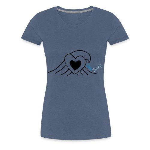 Love Sea Surf - Frauen Premium T-Shirt