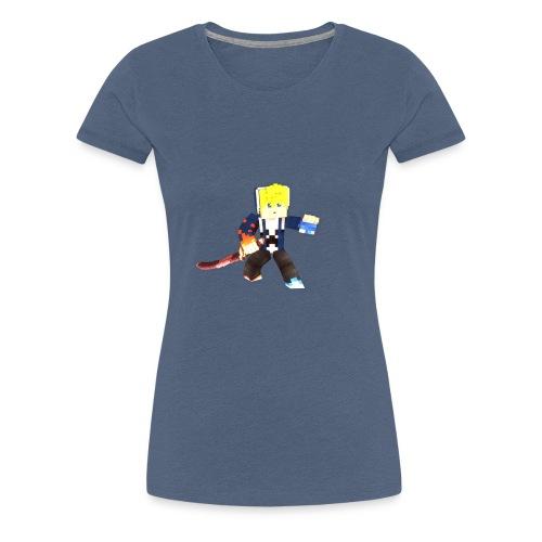 Minecraft - T-shirt Premium Femme