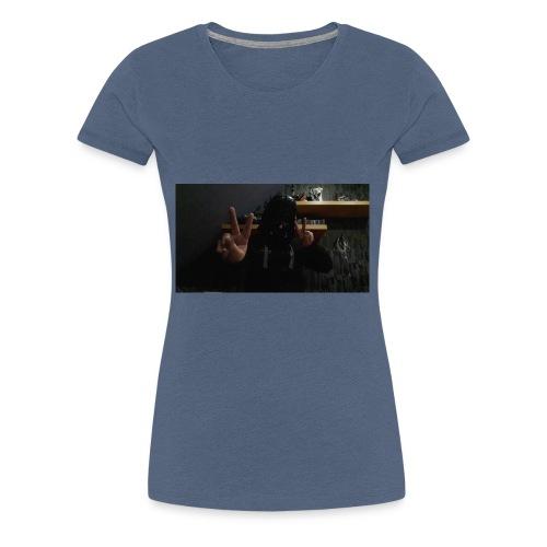 Mit peace - Frauen Premium T-Shirt