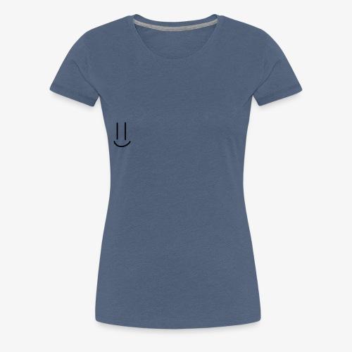Simple Smiley face - Women's Premium T-Shirt