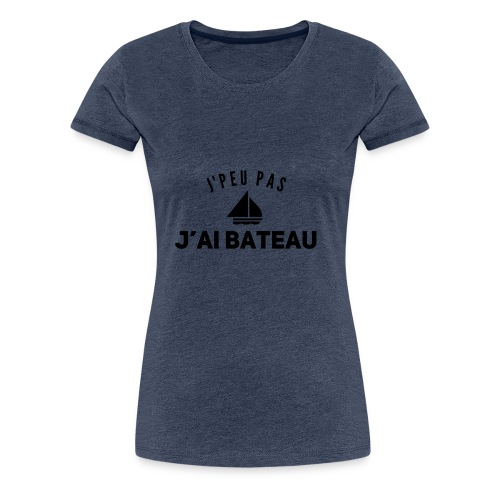 bateau - T-shirt Premium Femme