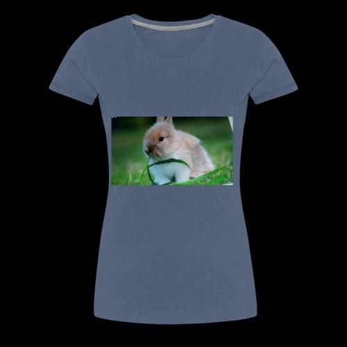 Außer Häschen T-shirt - Frauen Premium T-Shirt