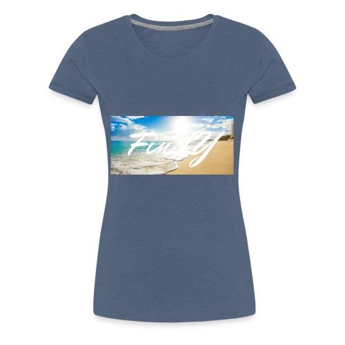 FinlY Beach - Women's Premium T-Shirt