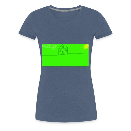 hus - Premium-T-shirt dam