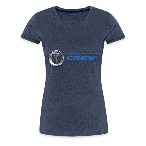 TRU CREW - Premium T-skjorte for kvinner