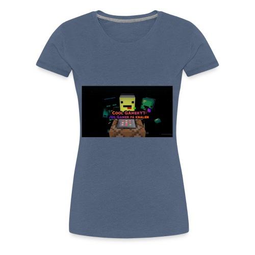 Cool Gamer yt - Premium T-skjorte for kvinner