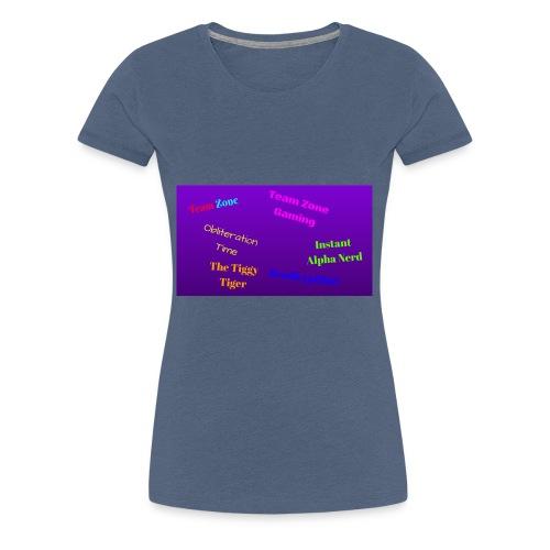 Team Zone Crew - Women's Premium T-Shirt