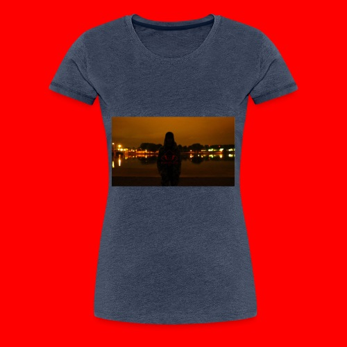 Blacksoldier is a live - Frauen Premium T-Shirt