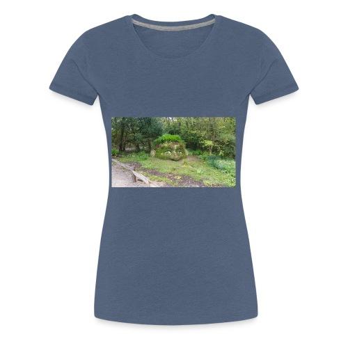 Was guckst du - Frauen Premium T-Shirt