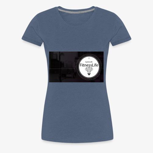 FitnessLife - T-shirt Premium Femme
