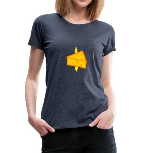 Cheesy Design - Women's Premium T-Shirt