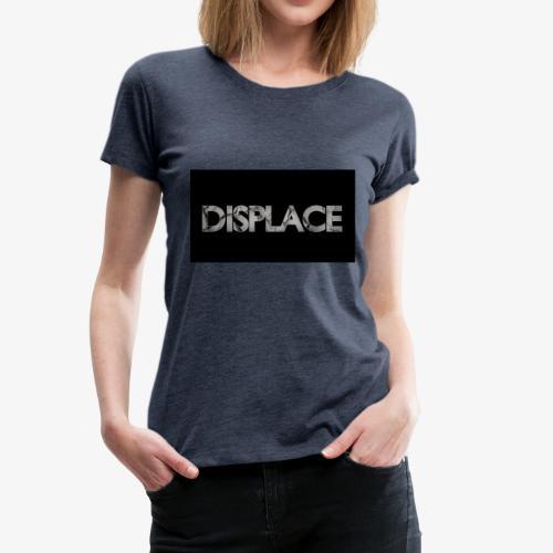 Displace Cracked Black - Frauen Premium T-Shirt