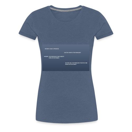 Running joke t-shirt - Women's Premium T-Shirt