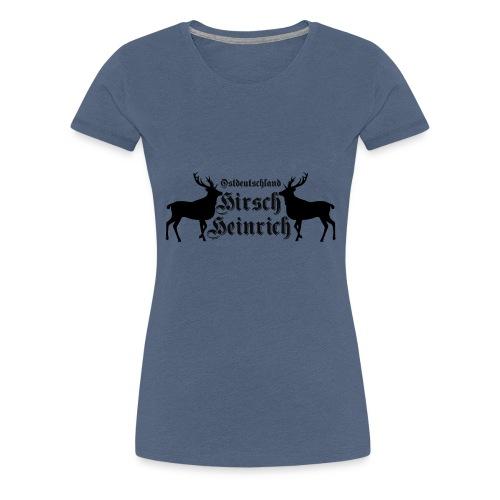 hirsch ostdeutschland - Frauen Premium T-Shirt