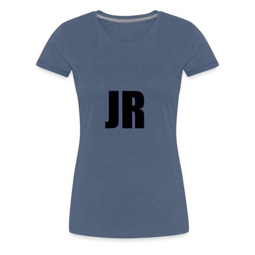 logo zwart - Vrouwen Premium T-shirt