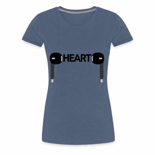 ListenToYourHeart - Koszulka damska Premium