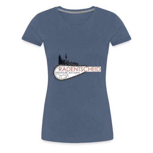 Radentscheid-Frankfurt - Frauen Premium T-Shirt