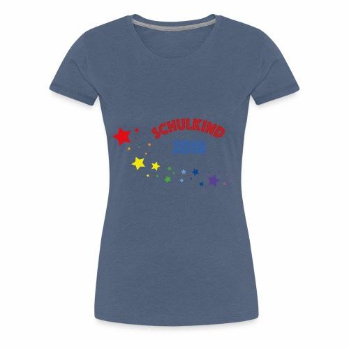 Schullkind 2018 - Frauen Premium T-Shirt