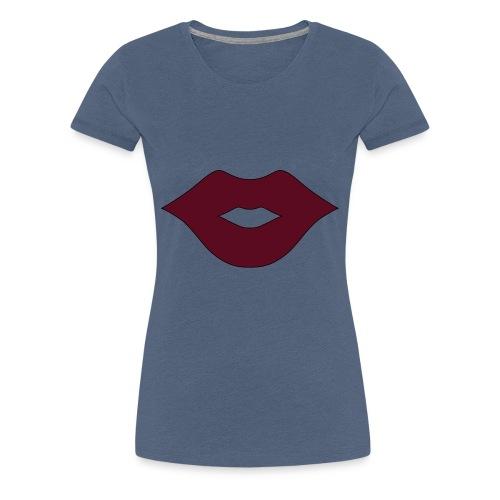 Kisses - Frauen Premium T-Shirt