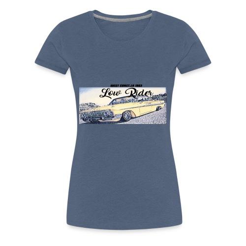Lowrider impala 1963 vato loco west coast tshirt - Women's Premium T-Shirt