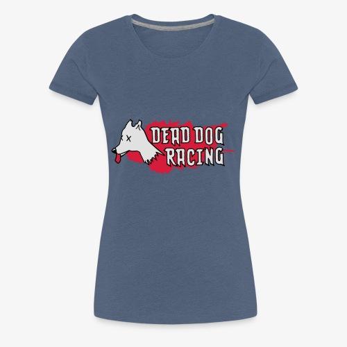 Dead dog racing logo - Women's Premium T-Shirt