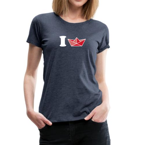 I schiff - Frauen Premium T-Shirt