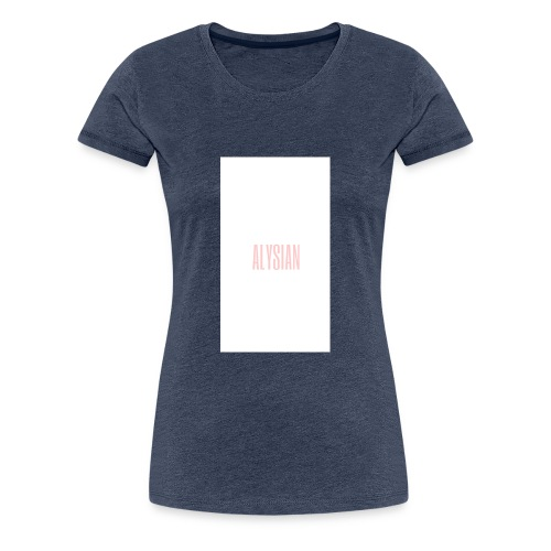 ALYSIAN LOGO - Maglietta Premium da donna