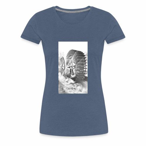 1950er Oldy - Frauen Premium T-Shirt