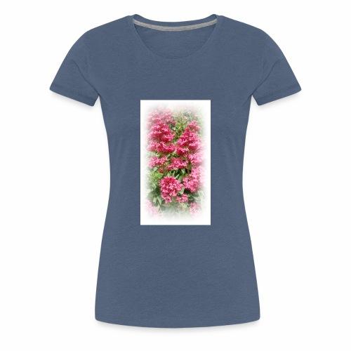 Red Flower - Women's Premium T-Shirt
