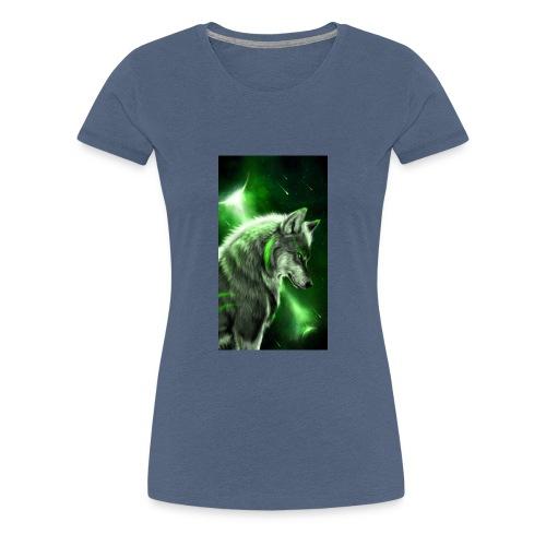 Wolf des lebens - Frauen Premium T-Shirt