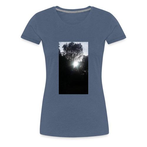 Alberi al tramonto - Maglietta Premium da donna
