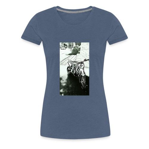 Pocket cross - T-shirt Premium Femme