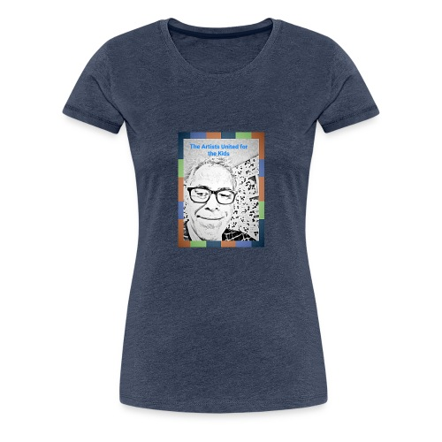 Artists United for the Kids - T-shirt Premium Femme