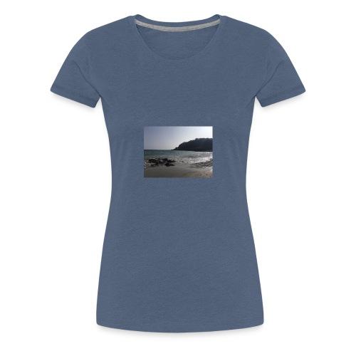 Guernsey Channel Island Beach - Women's Premium T-Shirt