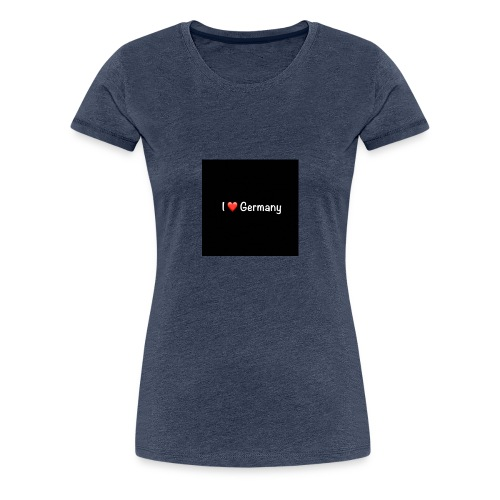 Germany - Frauen Premium T-Shirt
