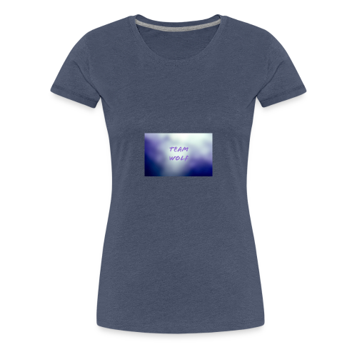 Team Wolf Box - Women's Premium T-Shirt