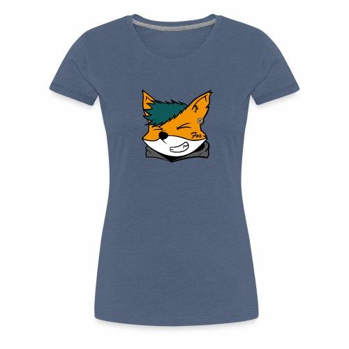 Le petit Fox [LOGO PERSONNALISABLE] - T-shirt Premium Femme