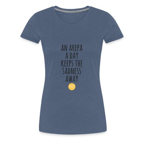 Arepaness - Frauen Premium T-Shirt