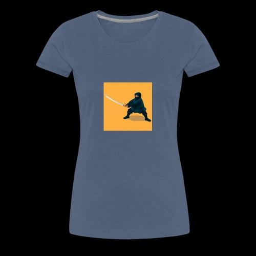 dikke ninja - Vrouwen Premium T-shirt