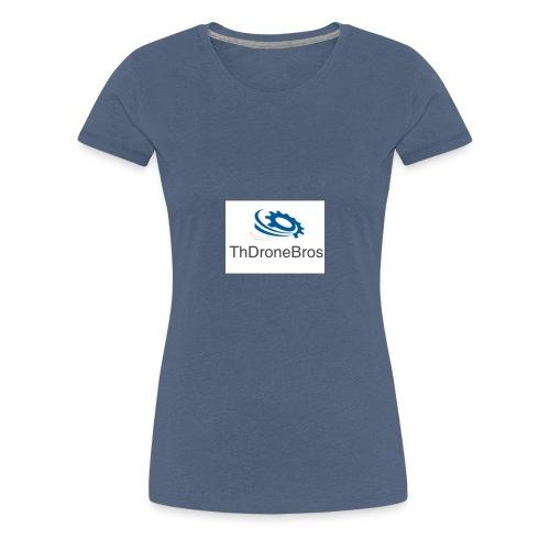 DroneBros logo - Women's Premium T-Shirt