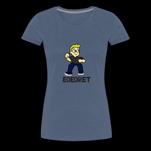 Ededret Pixel Figuren - Frauen Premium T-Shirt