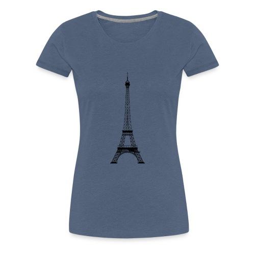 Eifelturm - Frauen Premium T-Shirt