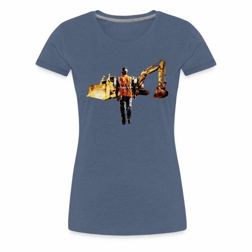 Diggers and Dozers - Women's Premium T-Shirt