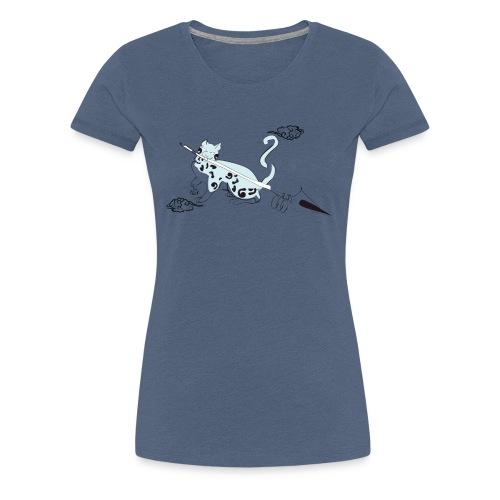 chat de al brume 02 - T-shirt Premium Femme