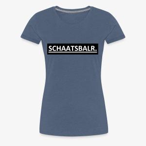 Schaatsbalr. - Vrouwen Premium T-shirt
