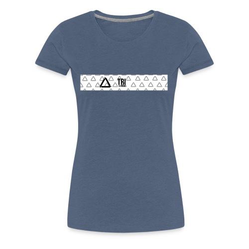 Tri Clothing Long Logo - Premium T-skjorte for kvinner