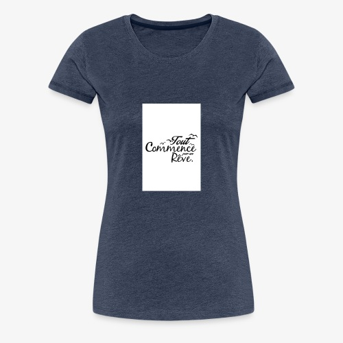 un reve - T-shirt Premium Femme