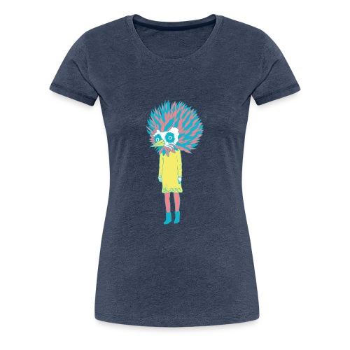 sloan bird girl - Frauen Premium T-Shirt