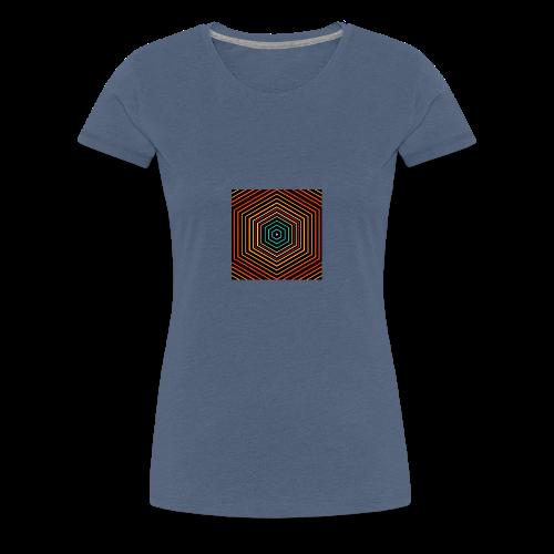 Colour hex - Women's Premium T-Shirt